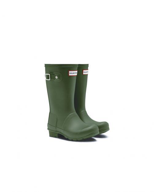 Hunter---Rainboots-for-children---Original-Kids-Wellington---Hunter-Green