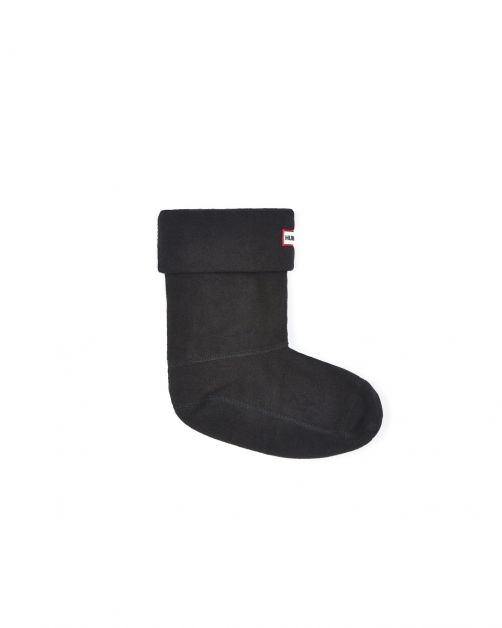 Hunter---Fleece-boot-socks-for-children---Original-Kids---Black