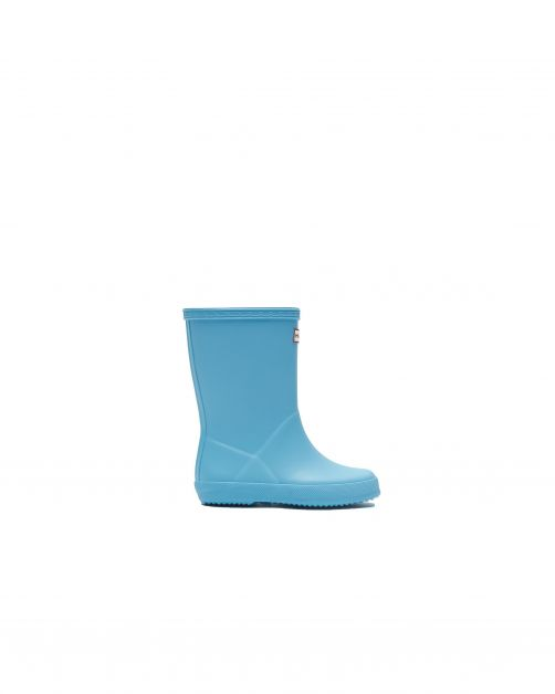 Hunter---Rainboots-for-children---Kids-First-Classic---Borealis-Blue