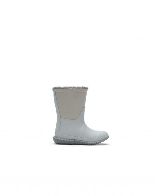 Hunter---Insulated-Sherpa-Boots-for-children---Original-Kids---Frosted-Grey-