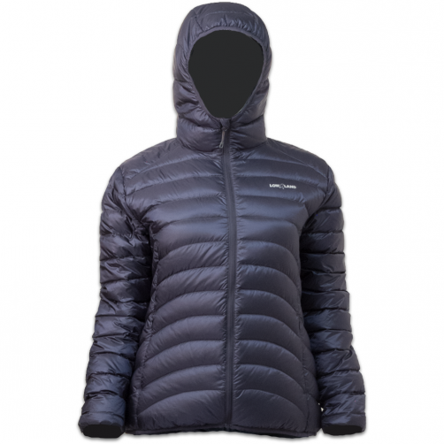 Lowland-Outdoor---Duck-down-filled-winter-jacket-for-woman---Hoody---Navy