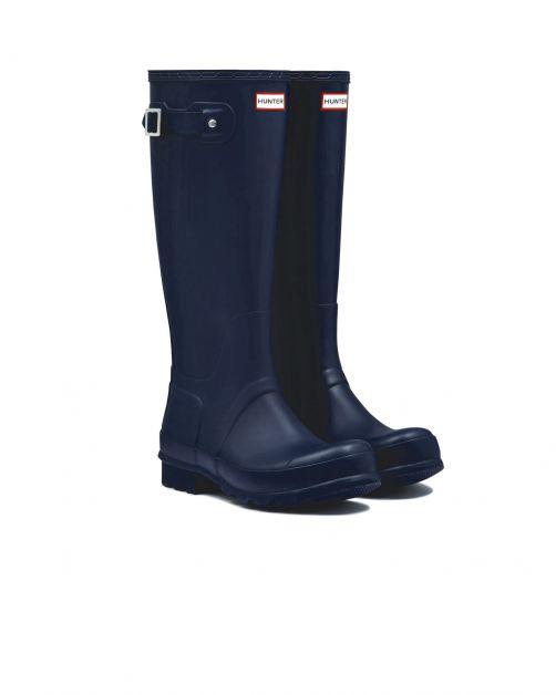 Hunter---Rainboots-for-men---Original-Tall-Wellington---Navy