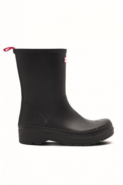 Hunter---Rainboots-for-men---Original-Play-Boots-Mid---Black