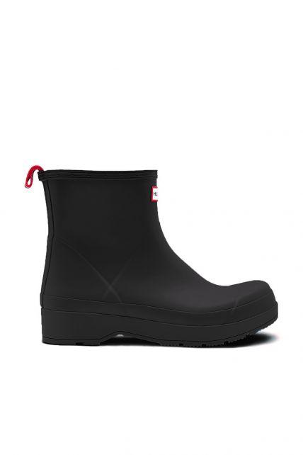 Hunter---Rainboots-for-men---Original-Play-Boots-Short---Black