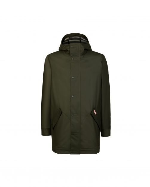 Hunter---Lightweight-rubberised-Hunting-Coat-for-men---Dark-Olive