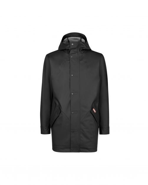 Hunter---Lightweight-rubberised-Hunting-Coat-for-men---Black