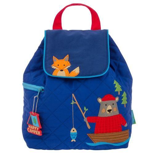 Stephen-Joseph---Quilted-backpack-for-kids---Bear