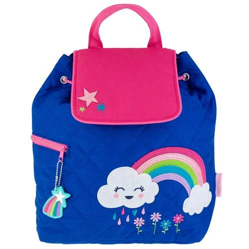Stephen-Joseph---Quilted-backpack-for-kids---Rainbow