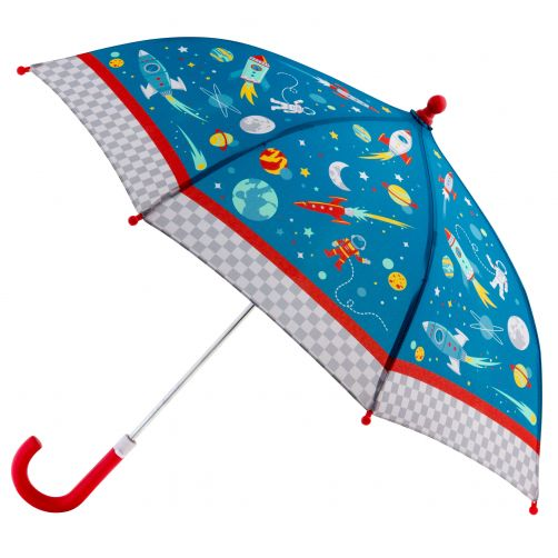 Stephen-Joseph---Umbrella-for-boys---Space---Blue