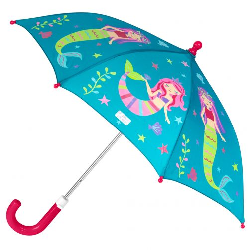 Stephen-Joseph---Color-changing-umbrella-for-girls---Mermaid---Turquoise