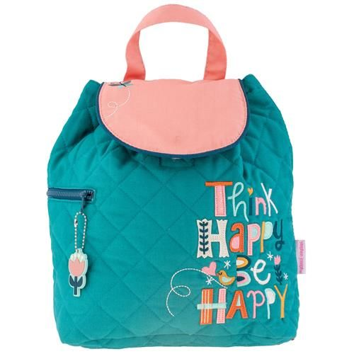 Stephen-Joseph---Quilted-backpack-for-kids---Think-Happy