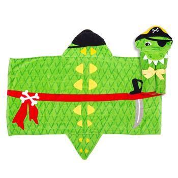 Stephen-Joseph---Hooded-towel-for-kids---Alligator