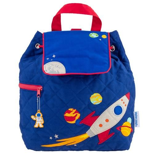 Stephen-Joseph---Quilted-backpack-for-kids---Space