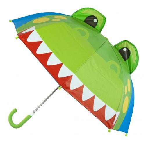 Stephen-Joseph---Pop-up-umbrella-for-boys---Dino---Blue