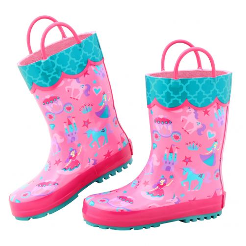 Stephen-Joseph---Rainboots-for-girls---Princess---Pink