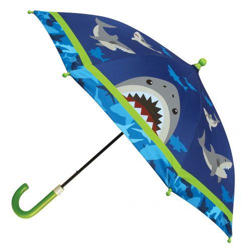 Stephen-Joseph---Umbrella-for-boys---Shark---Dark-blue