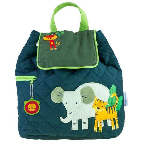 Stephen-Joseph---Quilted-backpack-for-kids---Zoo