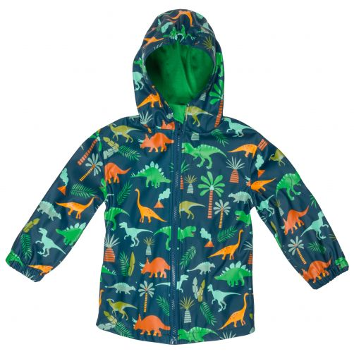 Stephen-Joseph---Raincoat-for-boys---Dino---Dark-blue