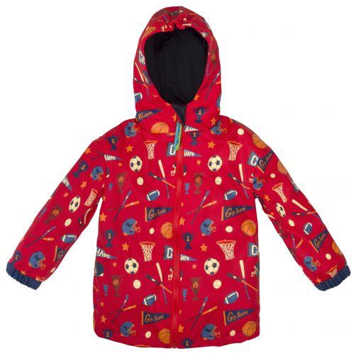 Stephen-Joseph---Raincoat-for-boys---Sports---Red
