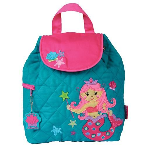 Stephen-Joseph---Quilted-backpack-for-kids---Mermaid