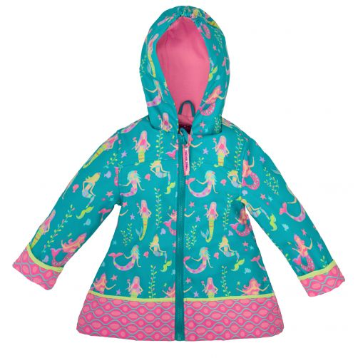 Stephen-Joseph---Raincoat-for-girls---Mermaid---Turquoise
