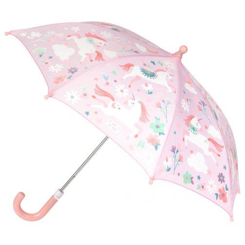 Stephen-Joseph---Color-changing-umbrella-for-girls---Unicorn---Pink