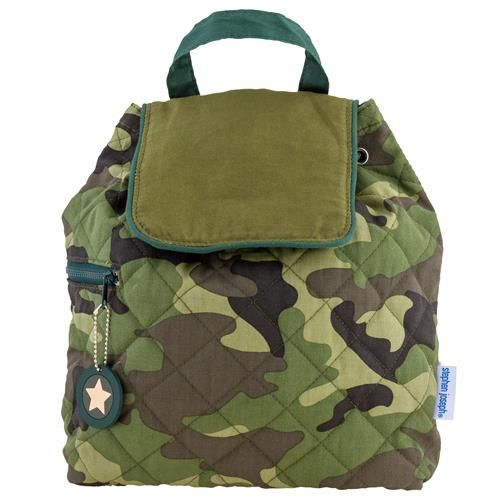 Stephen-Joseph---Quilted-backpack-for-kids---Camo