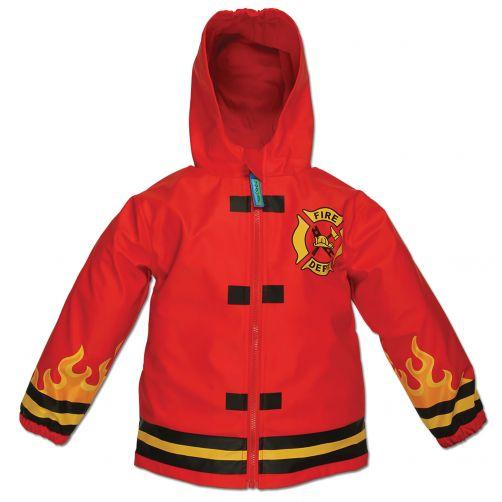 Stephen-Joseph---Raincoat-for-boys---Fire-Chief---Red
