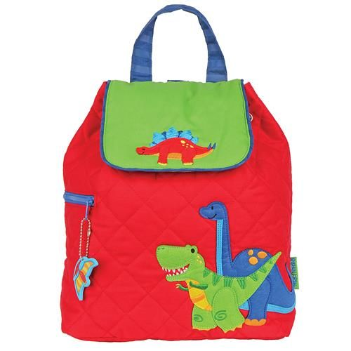 Stephen-Joseph---Quilted-backpack-for-kids---Dino