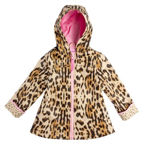 Stephen-Joseph---Raincoat-for-girls---Leopard---Multi
