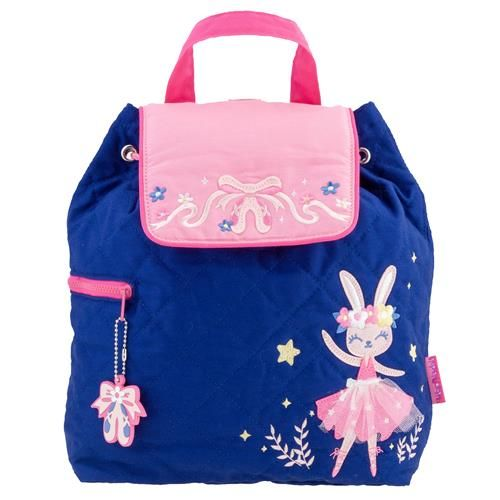Stephen-Joseph---Quilted-backpack-for-kids---Ballet-Bunny