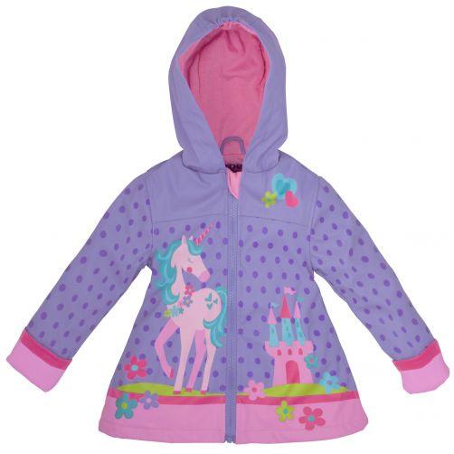Stephen-Joseph---Raincoat-for-girls---Unicorn---Lila