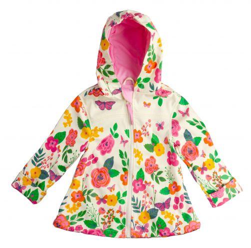 Stephen-Joseph---Raincoat-for-girls---Butterfly---Off-White