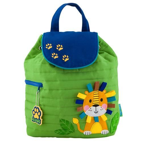 Stephen-Joseph---Quilted-backpack-for-kids---Lion