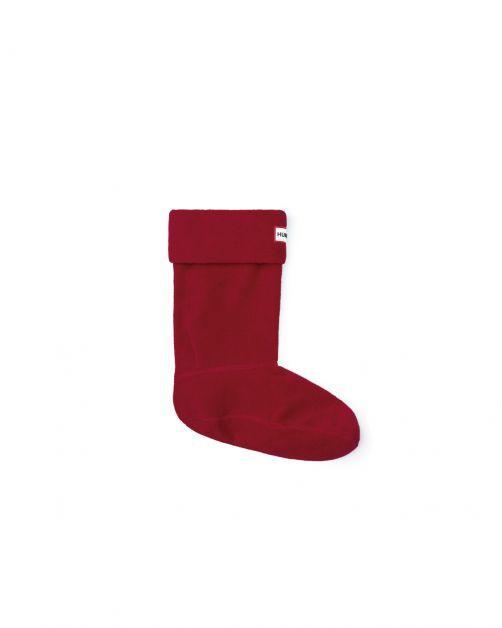 Hunter---Boot-socks-for-adults---Short---Militar-Red