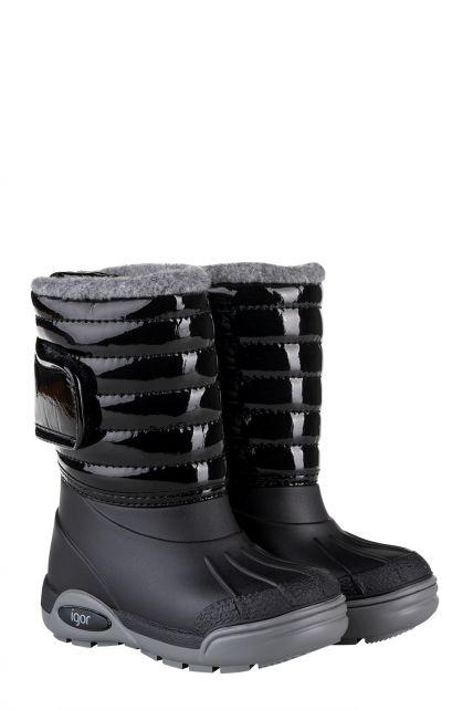 Igor---Winterboots-for-children---Topo-Ski-Charol---Black