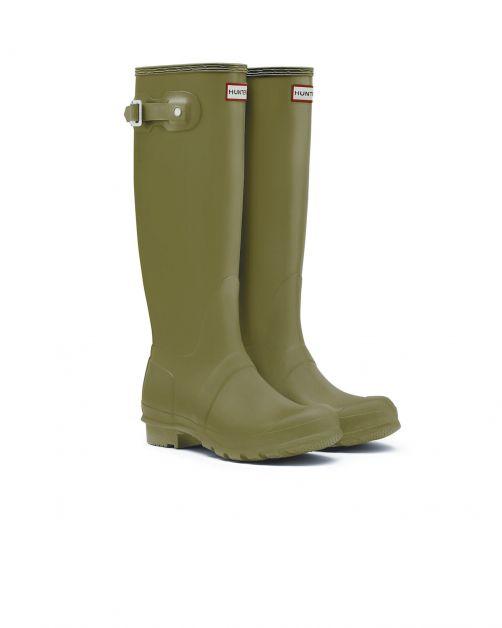 Hunter---Rainboots-for-women---Original-Tall---Olive-Green