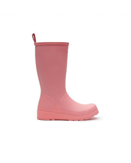 Hunter---Rainboots-for-women---Original-Play-Boots-Tall---Pink