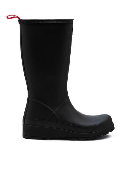 Hunter---Rainboots-for-women---Original-Play-Boots-Tall---Black