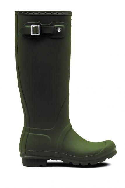 Hunter---Rainboots-for-women---Original-Tall---Dark-Olive